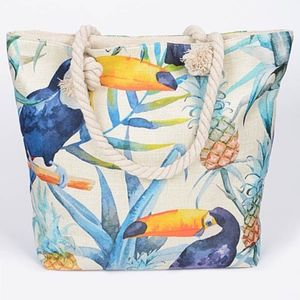 Beautiful two side tucon canvas tote bag